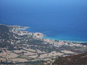 Korzika Balanja 12 panorama