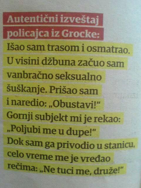 Policajac iz Grocke