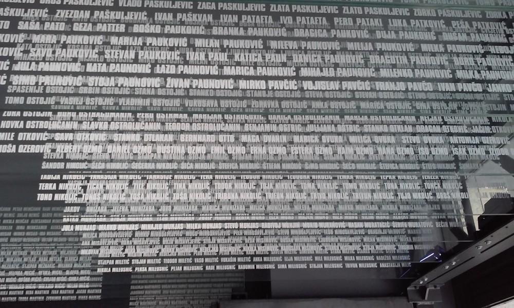 Јасеновац део имена убијених