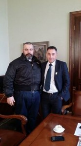 Marko Orelj i Milan Lapčević