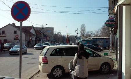 Nis, parkiranje Obilicev venac