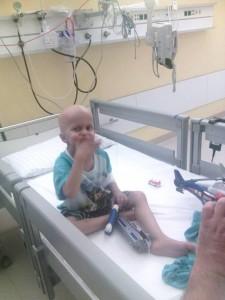 Stefan Miladinovic pre operacije, foto Fejsbuk