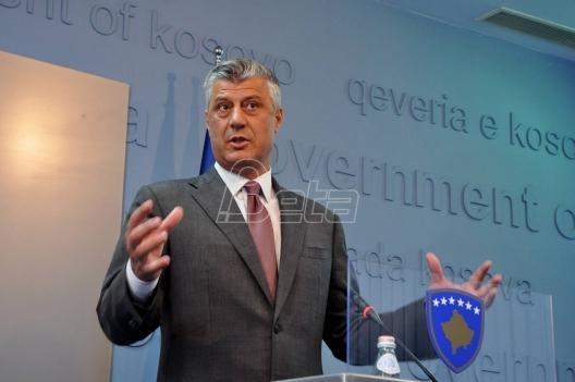 Tači: Dijalog sa Srbijom mogao bi početi u septembru