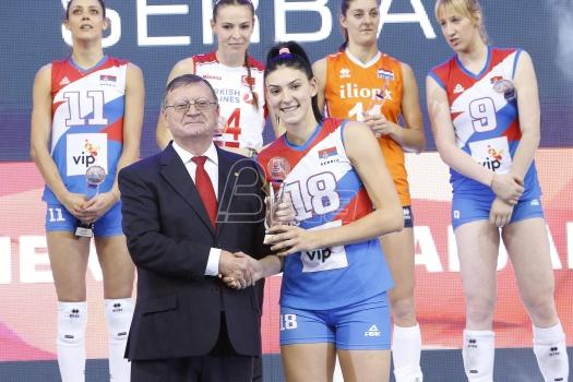 Boškovićeva najbolja igračica Evropskog prvenstva