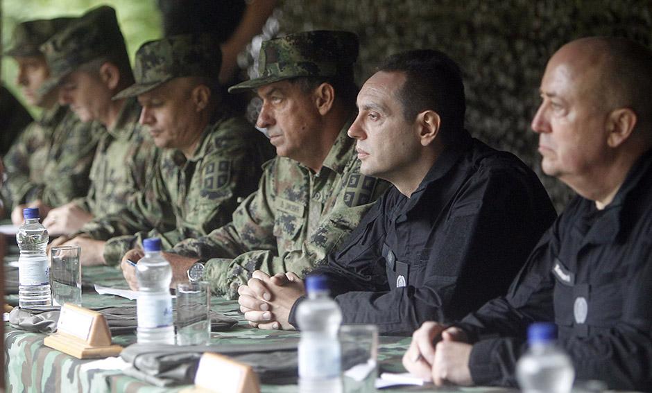 Aleksandar Vulin, izviđači, poseta, vojska srbije